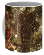 Gold Owl Coffee Mug