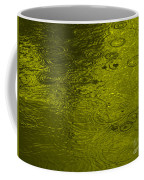 Gold Rain Droplets Coffee Mug