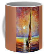 Gold Sail Coffee Mug