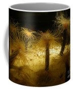 Gold Sea Anemones Coffee Mug
