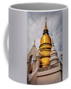 Gold Stupa Coffee Mug