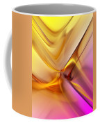 Golden Abstract 042711 Coffee Mug