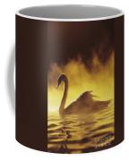 Golden African Swan Coffee Mug