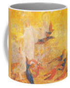 Golden Autumn Fairy Tale Coffee Mug