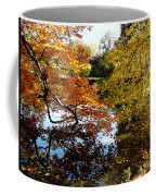 Golden Autumn Trees Coffee Mug