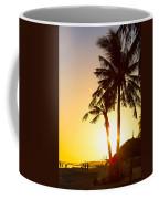 Golden Beach Tropics Coffee Mug