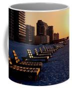 Golden Benches Coffee Mug