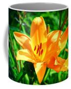 Golden Blossom Coffee Mug