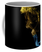 Golden Blue Coffee Mug