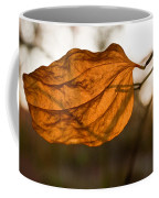 Golden Briar Leaf Coffee Mug