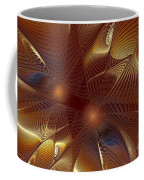 Golden Bronze Swirl Coffee Mug
