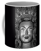 Golden Buddha Monochrome Coffee Mug