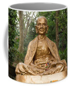 Golden Buddhist Monk Coffee Mug