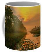 Golden Canal Morning Coffee Mug