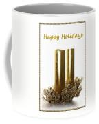 Golden Candles Coffee Mug