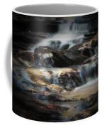 Golden Cascade Coffee Mug