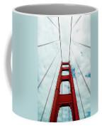 Golden Crossing - Golden Gate Bridge San Francisco Coffee Mug
