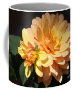 Golden Dahlia With Bud Coffee Mug