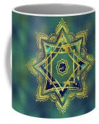 Golden Decorative Star Of Lakshmi - Ashthalakshmi  Coffee Mug
