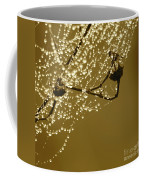 Golden Dewdrops Coffee Mug