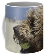 Golden Doodle And His Ball Coffee Mug