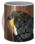 Golden Eagle Cleans Its Feathers Coffee Mug