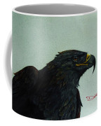 Golden Eagle- Head Study Coffee Mug