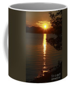 Golden Evening Sun Rays Coffee Mug