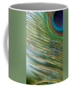 Golden Feather Coffee Mug