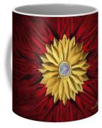 Golden Flower Coffee Mug