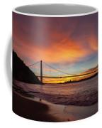 Golden Gate Bridge At Dawn Coffee Mug