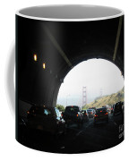Golden Gate Bridge From Tunnel Coffee Mug