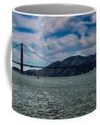 Golden Gate Bridge Panoramic Coffee Mug
