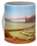 Golden Gate Bridge Sausalito Coffee Mug