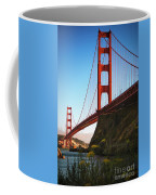 Golden Gate Bridge Sausalito Coffee Mug by Doug Sturgess