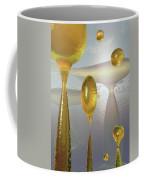 Golden Globs Coffee Mug