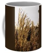 Golden Grass Flowers Coffee Mug