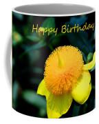 Golden Guinea Happy Birthday Coffee Mug