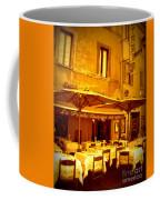 Golden Italian Cafe Coffee Mug by Carol Groenen