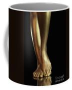 Golden Legs Coffee Mug