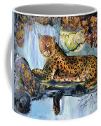 Golden Leopard Coffee Mug