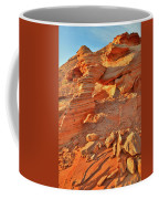 Golden Light On Valley Of Fire Arch Coffee Mug
