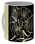 Golden Lilies Coffee Mug