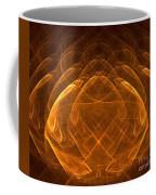 Golden Lotus Coffee Mug