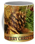 Golden Merry Christmas  Coffee Mug
