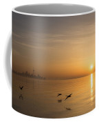 Golden Morning Flight Coffee Mug