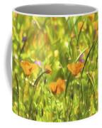 Golden Poppies In A Gentle Breeze  Coffee Mug