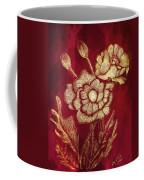 Golden Poppies Coffee Mug