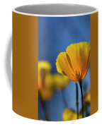Golden Poppy Reaching For The Skies  Coffee Mug