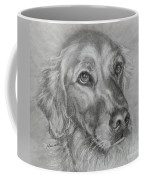 Golden Retriever Drawing Coffee Mug